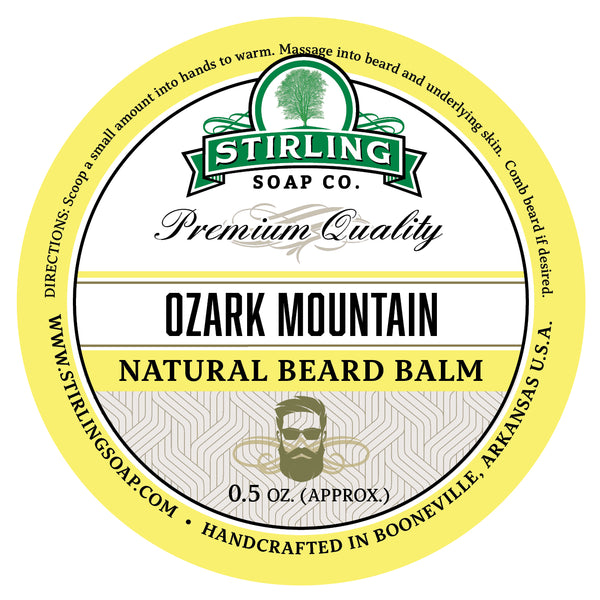 Ozark Mountain Beard Balm - 1/2oz