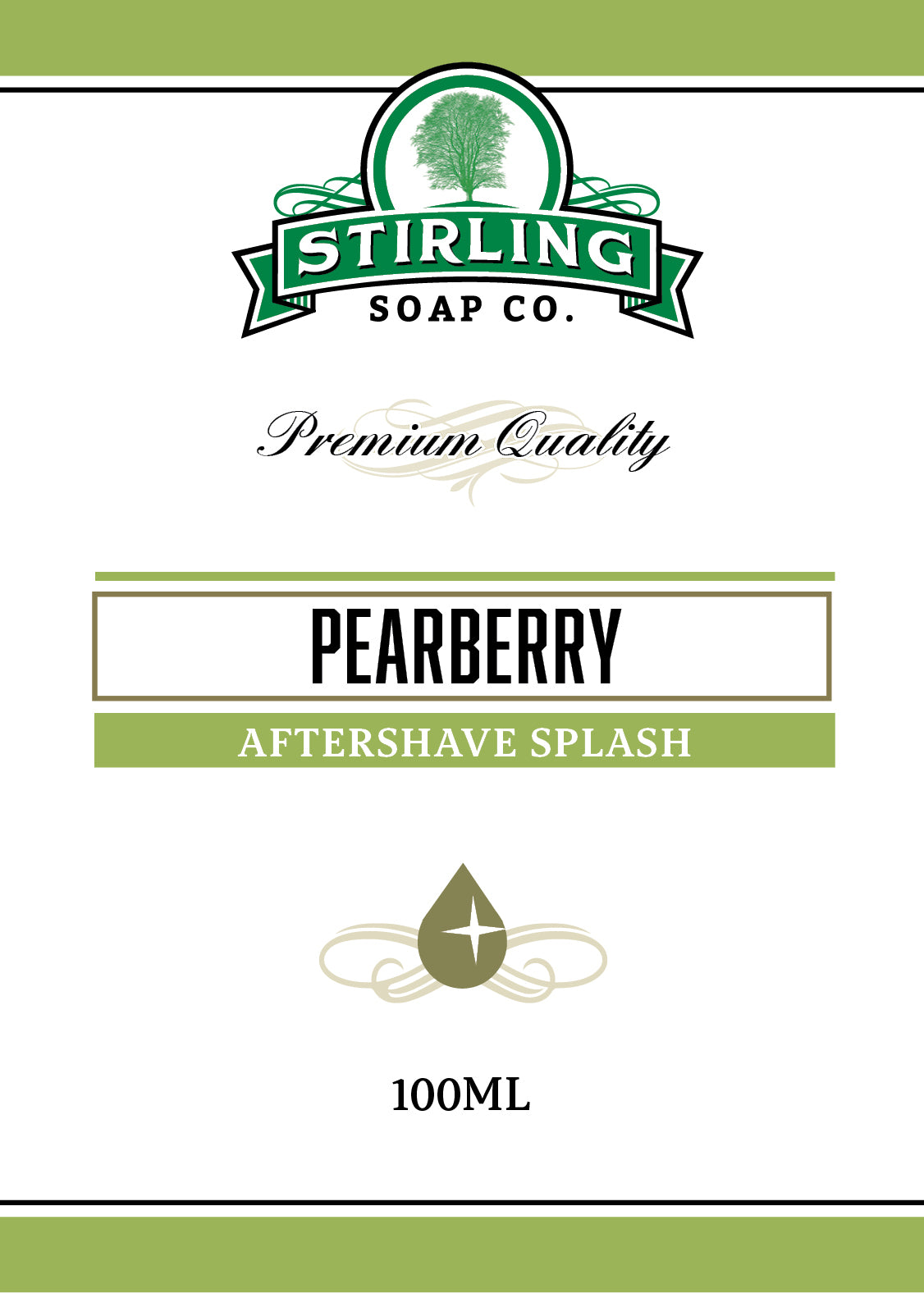 Pearberry - 100ml Aftershave Splash