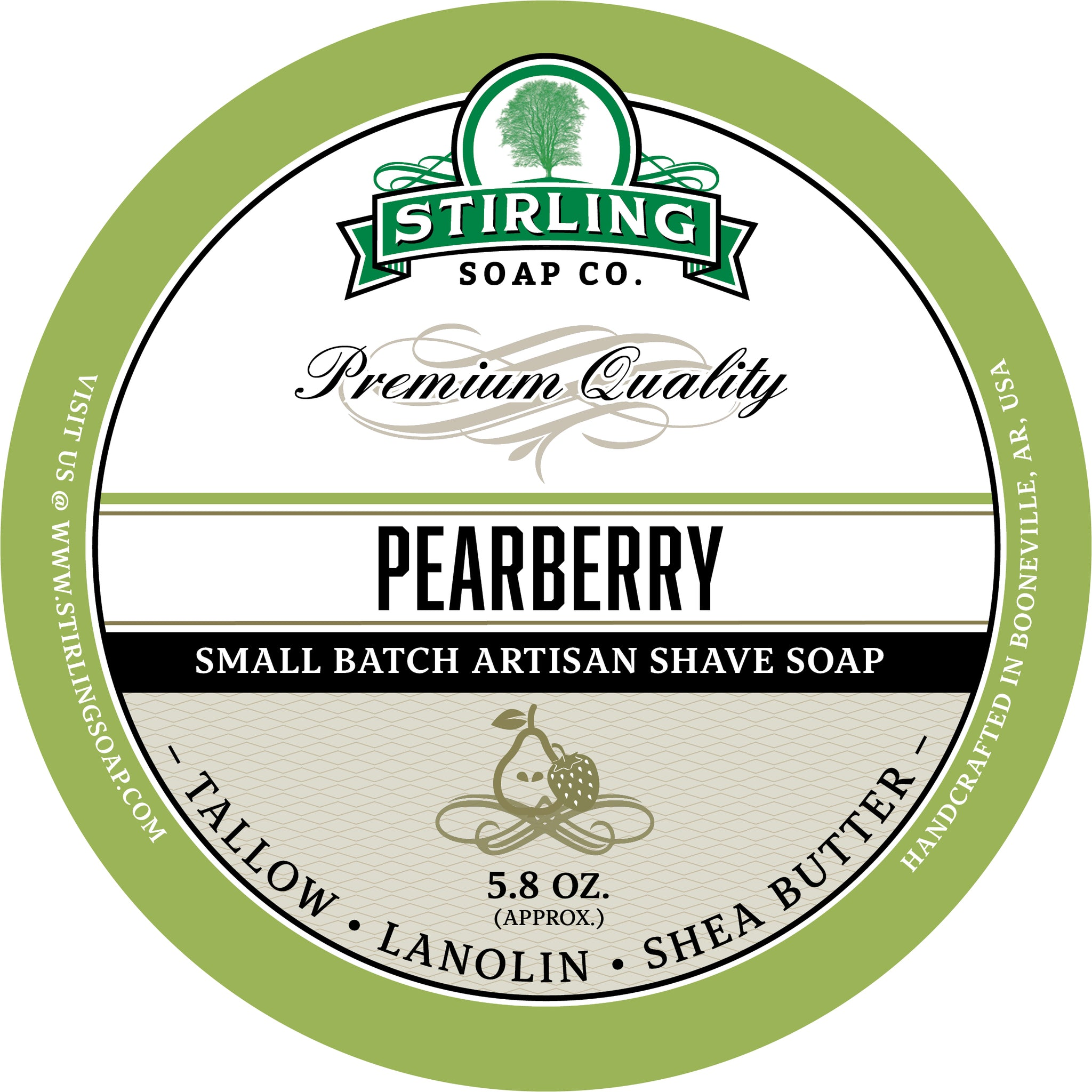 Pearberry - Shave Soap