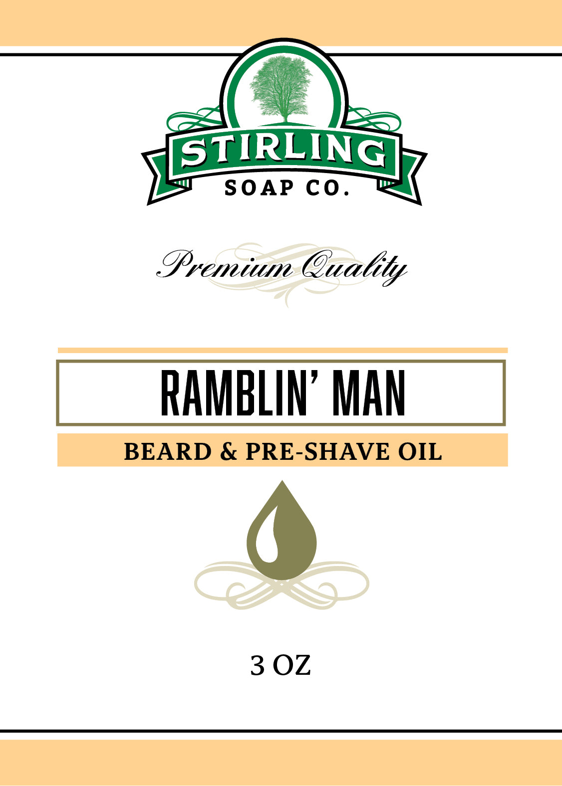 Ramblin' Man - Beard & Pre-Shave Oil