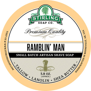 Ramblin' Man - Shave Soap