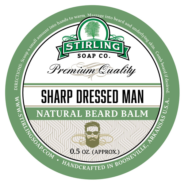 Sharp Dressed Man Beard Balm - 1/2oz