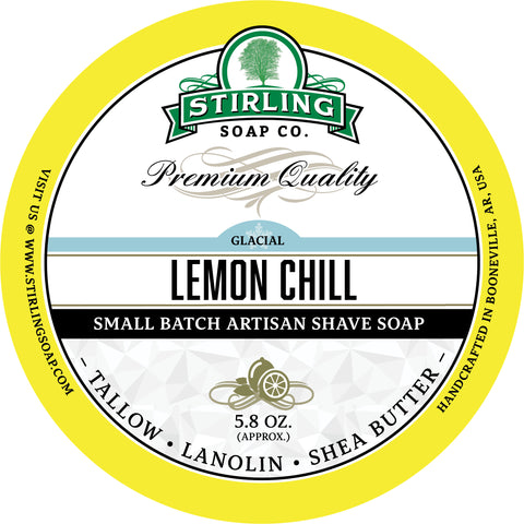 Glacial, Lemon Chill - Shave Soap