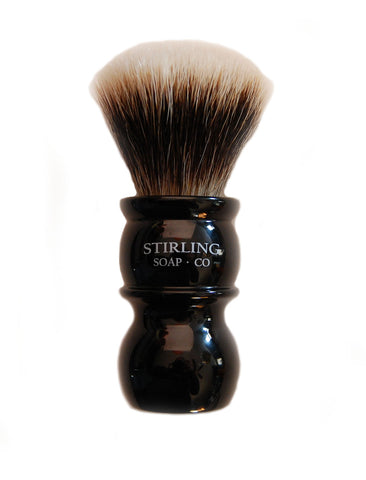 FACTORY SECONDS - Finest Badger Shave Brush - 24mm Fan Knot (Black)