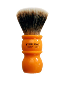 Finest Badger Shave Brush - 24mm Fan Knot (Butterscotch)