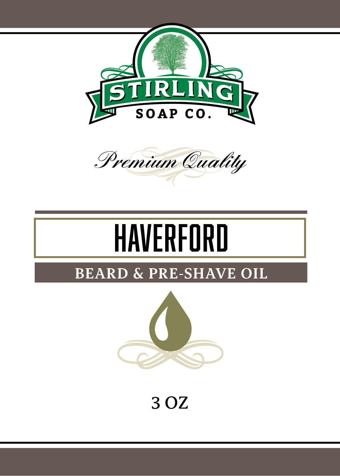 Haverford - Beard & Pre-Shave Oil