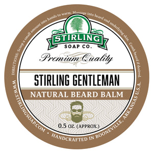 Stirling Gentleman Beard Balm - 1/2oz