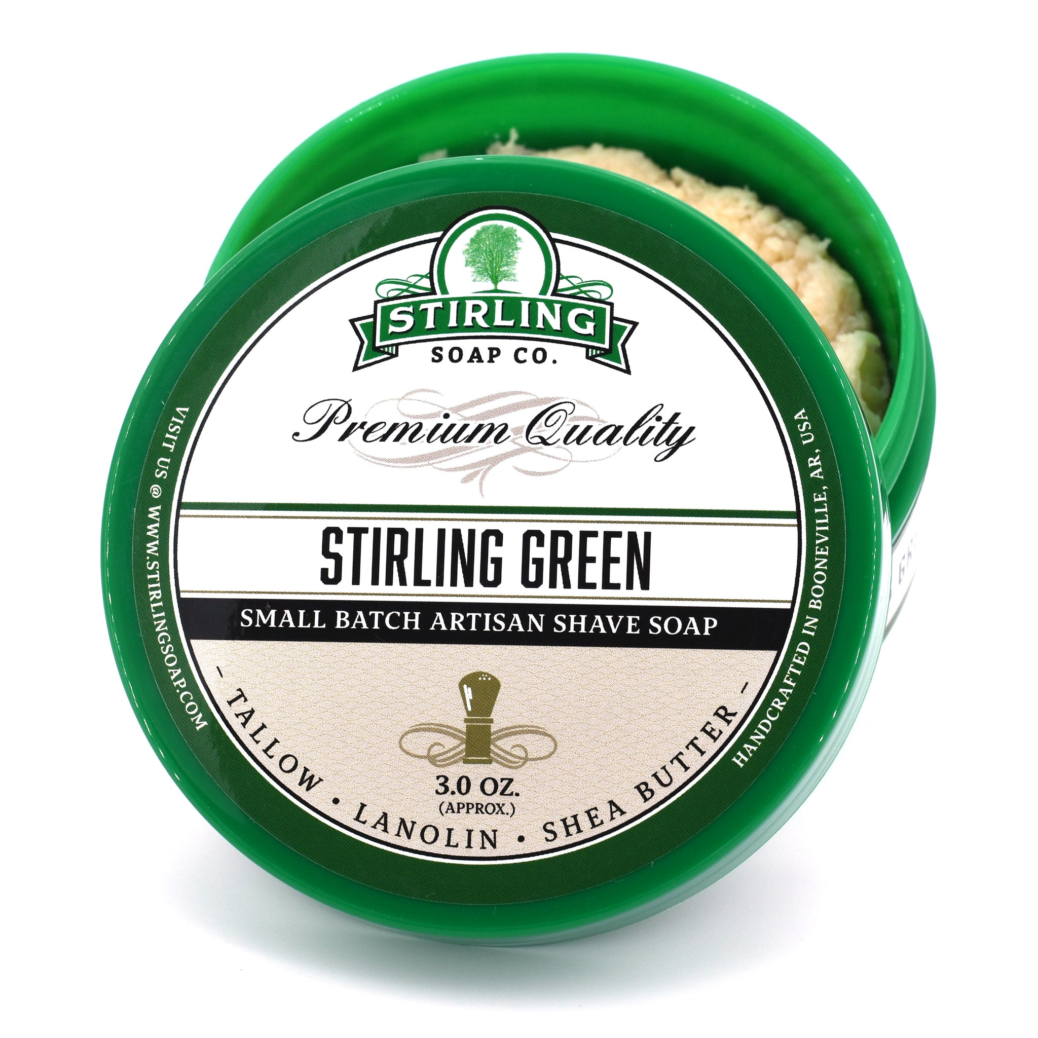 Stirling Green - Shave Soap (3oz)