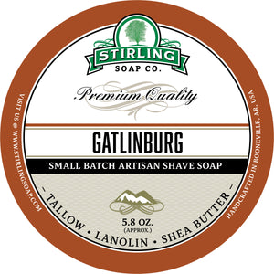 Gatlinburg - Shave Soap