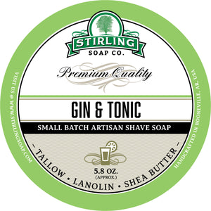 Gin & Tonic - Shave Soap