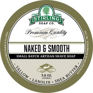 Naked & Smooth - Shave Soap