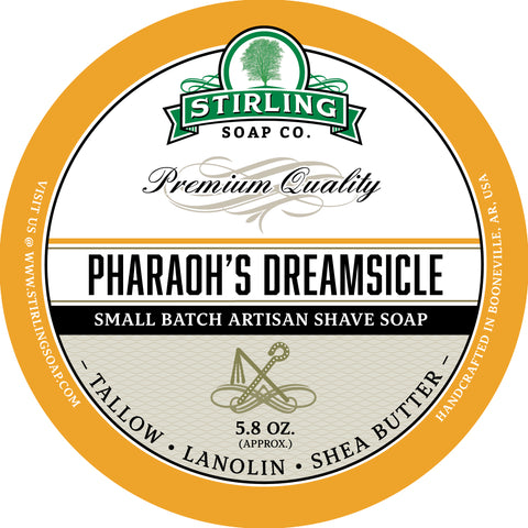 Pharaoh's Dreamsicle - Shave Soap