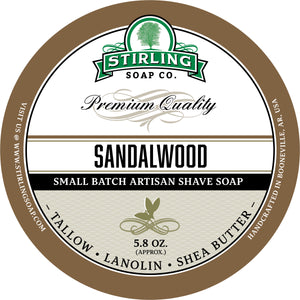 Sandalwood - Shave Soap