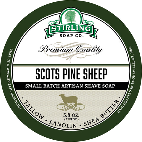Scots Pine Sheep - Shave Soap