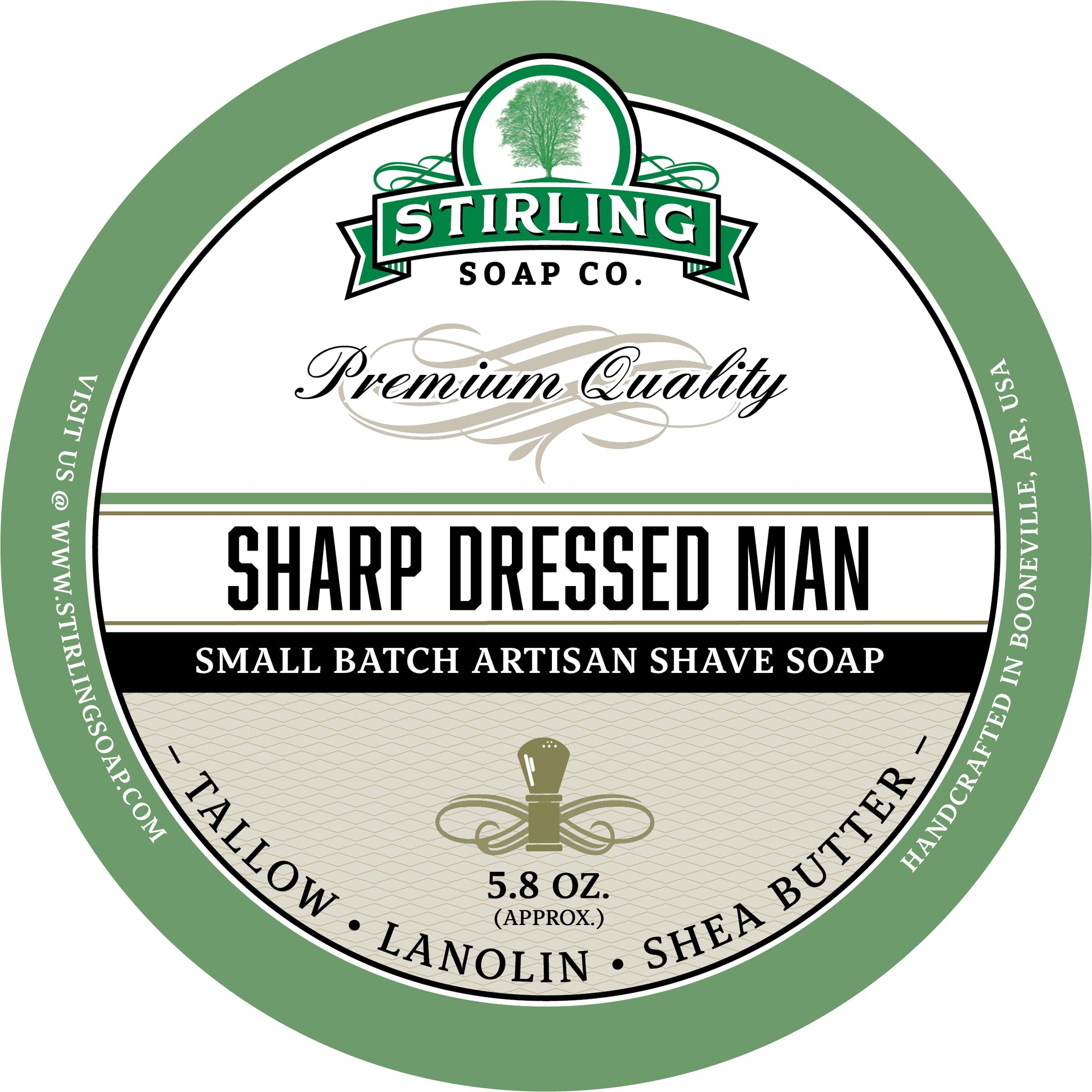 Sharp Dressed Man - Shave Soap