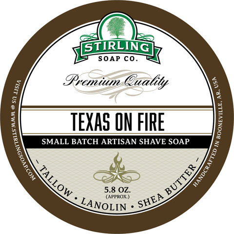 Texas on Fire - Shave Soap