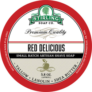 Red Delicious - Shave Soap