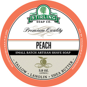 Peach - Shave Soap