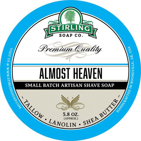 Almost Heaven - Shave Soap