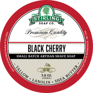Black Cherry - Shave Soap