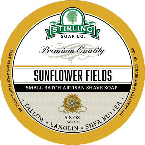 Sunflower Fields - Shave Soap