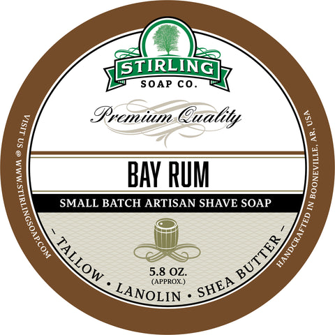 Bay Rum - Shave Soap