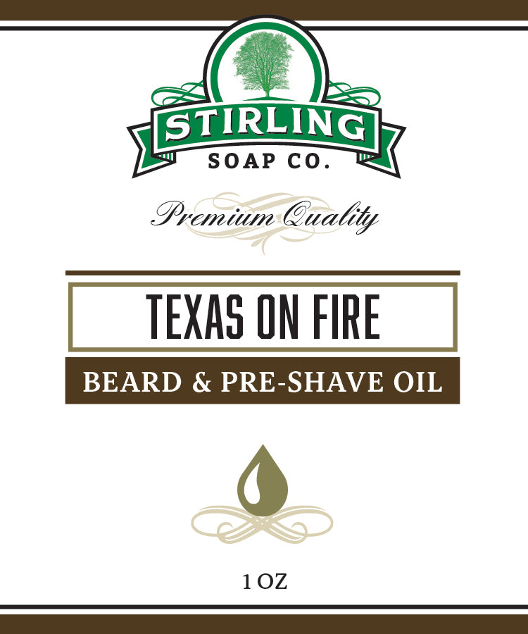 Texas on Fire (1oz)- Beard & Pre-Shave Oil