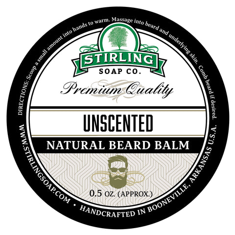 Unscented Beard Balm - 1/2oz
