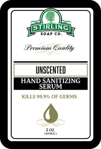 Unscented - Hand Sanitizing Serum (2oz Squeeze Bottle)