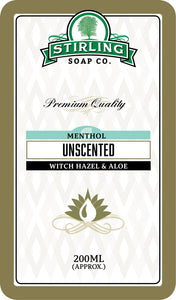 Unscented with Menthol Witch Hazel & Aloe - 200ml