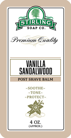 Vanilla Sandalwood - Post-Shave Balm