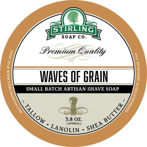 Waves of Grain - Shave Soap