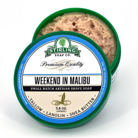 Weekend in Malibu - Shave Soap