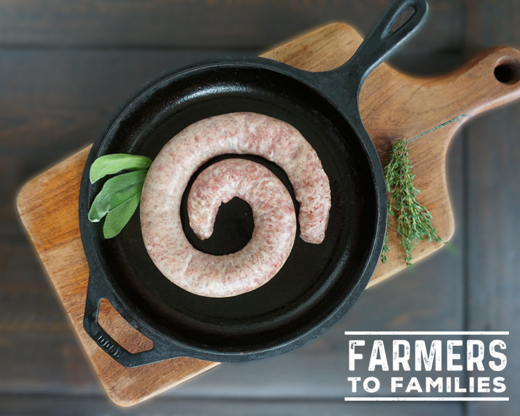 Single Swine Sausage ($5.50+/Lb)