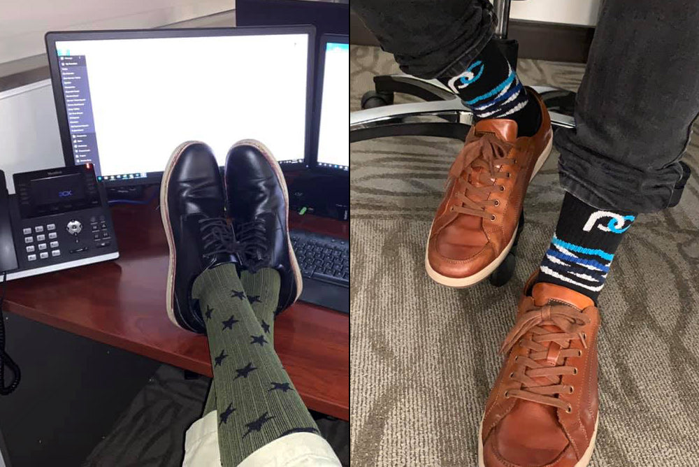 Compression socks offer a number of other benefits that can have a dramatic difference during your workday.
