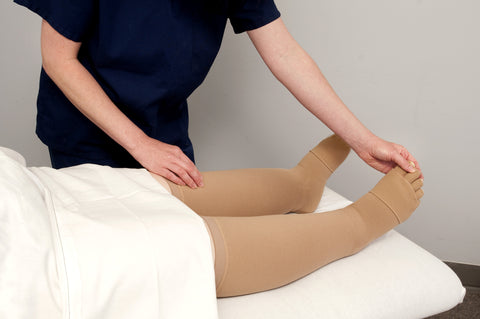 If you're suffering from swelling caused by lymphedema, arm compression sleeves for lymphedema are a fitting treatment.]