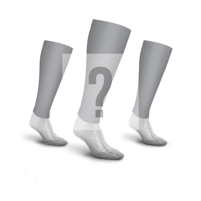 PRO Compression Graduated Calf Sleeves - Grab Bag, 3 Pairs