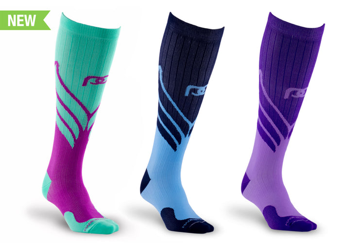 PRO Compression Graduated Compression Sock - Marathon, Wings Bundle