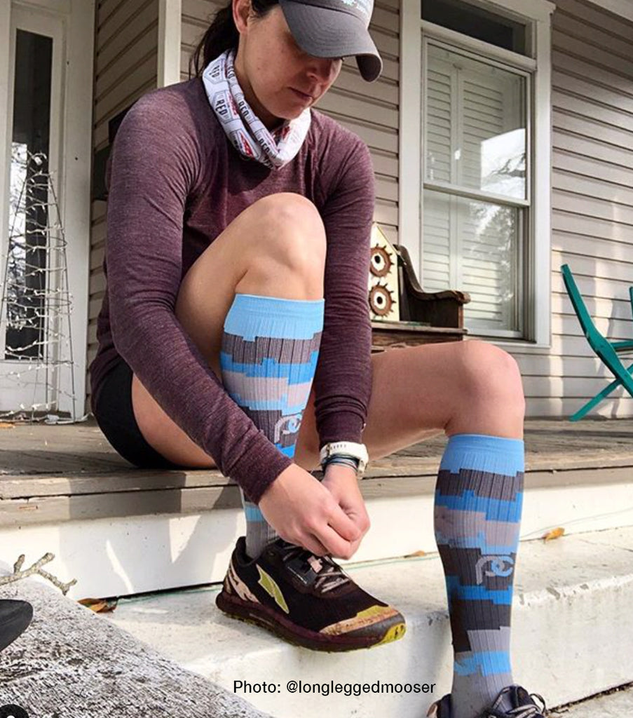 PRO Compression Graduated Compression Sock - Marathon, City Camo