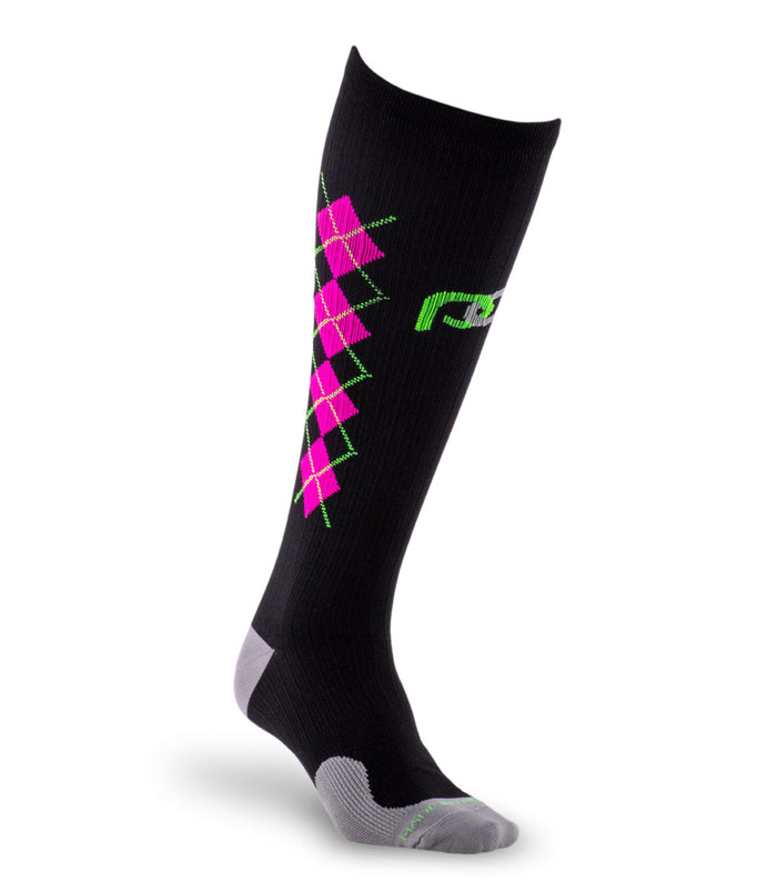 Marathon, Black and Pink Argyle