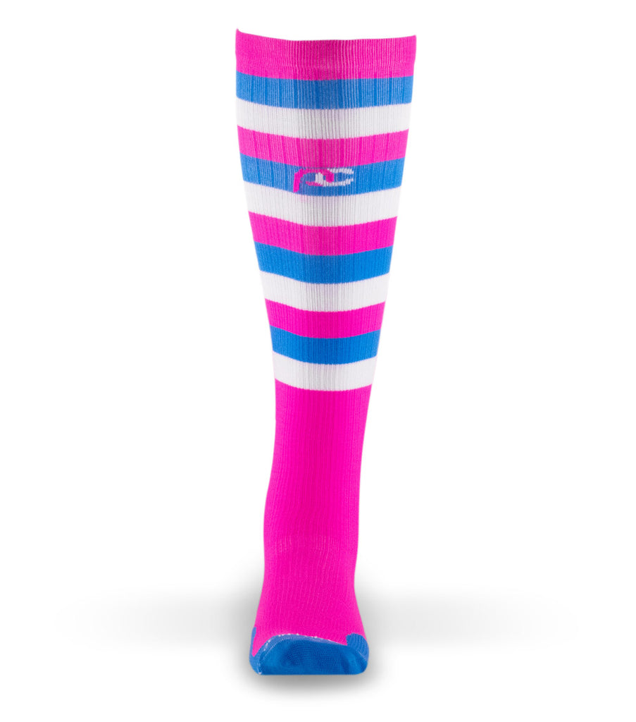 PRO Compression Graduated Compression Sock - Marathon, Cotton Candy