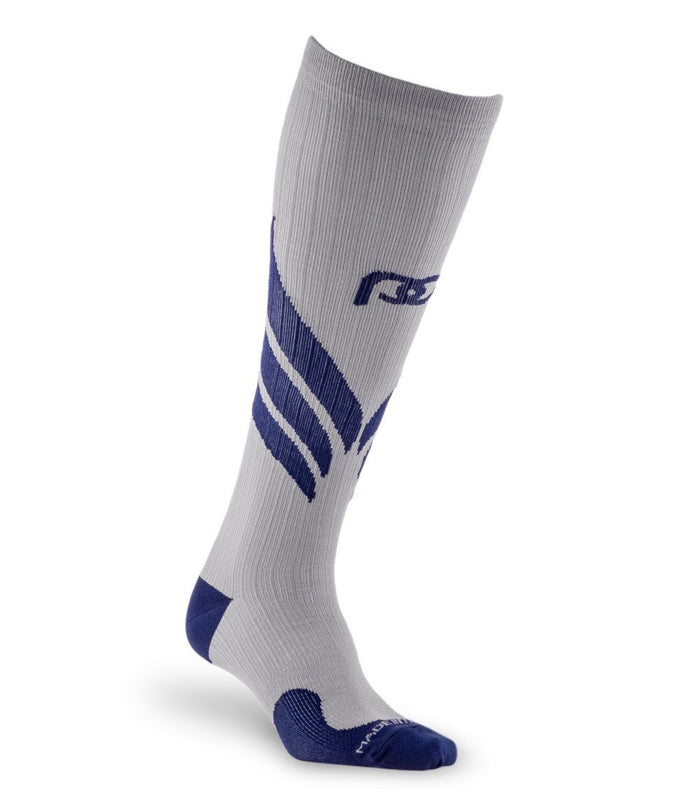 PRO Compression | Graduated Compression Socks | Marathon, Grey Wings