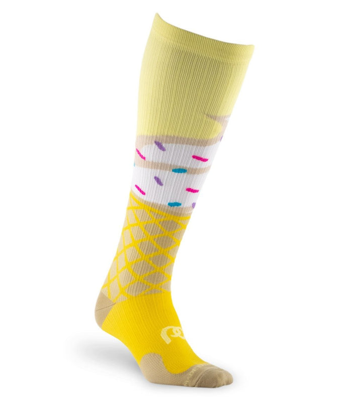 PRO Compression Graduated Compression Sock - Marathon, Ice Cream Cone