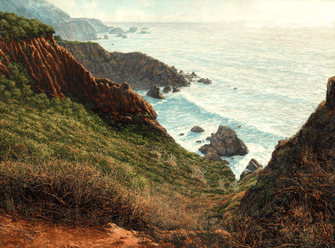 Card, Abalone Bay, by Edmund Moody