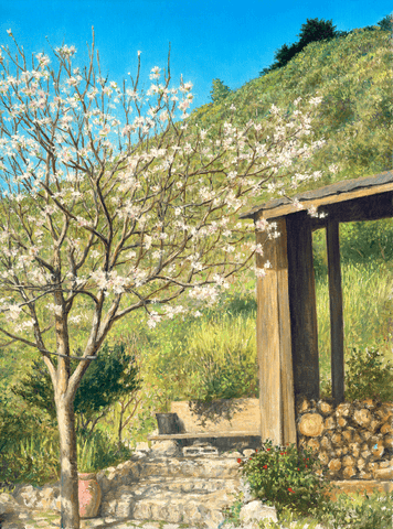 Apple Tree - Giclee on canvas