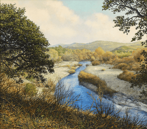 Along the Big Sur River - Giclée on Canvas