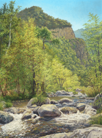 Arroyo Seco  - Giclée on Canvas