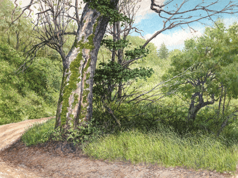 Old Coast Road-Giclee on Paper-Wholesale