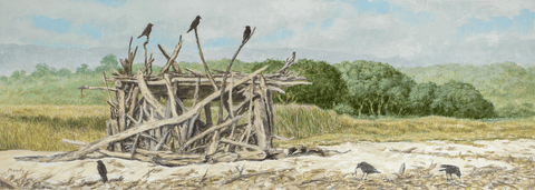 Crow House-Giclee on Paper