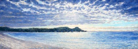 Heavenly Lights at Point Lobos-Giclée on Canvas